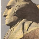 George Washington Mt Rushmore Memorial Black Hills South Dakota vintage postcard
