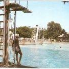 Tuhey Park Swimming Pool Muncie Indiana vintage postcard
