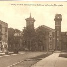 Looking toward Administration Building Valparaiso University Indiana vintage postcard