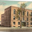 Music Hall Valparaiso University Indiana vintage postcard