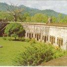 Fortress of San Fernando de Omoa Honduras vintage postcard