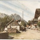 Garmisch Fruhlingstrabe Germany vintage postcard