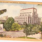 Times Building Los Angeles California vintage postcard