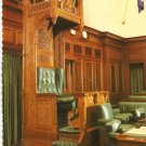 Speaker's Chair Parliament House Canberra Australia Robert Schorn postcard
