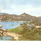 Panoramic Yacht Club and Hotel Fishing Club postcard Acapulco Mexico