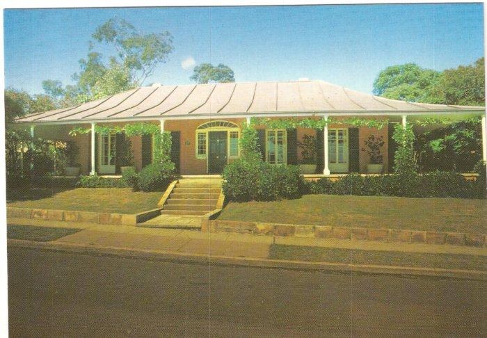 Experiment Farm Cottage Parramatta Australia postcard