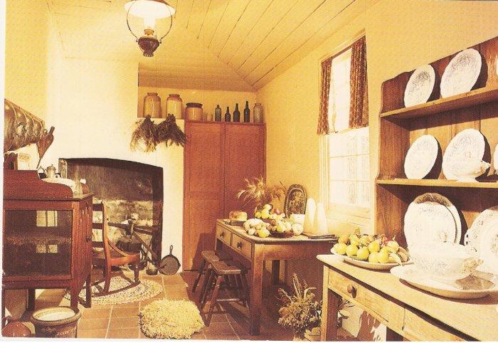 Servery Experiment Farm Cottage Parramatta Australia postcard