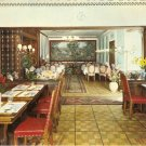 Hotel Metropol restaurant Switzerland postcard