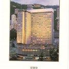 Hong Kong Hilton Hotel postcard