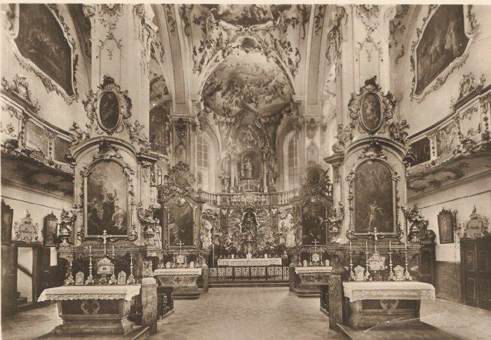 508 Andechs Missionary Church Germany vintage postcard