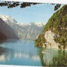 Konigssee St Bartoloma Germany postcard