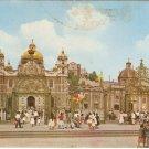 Basilica de Guadalupe Mexico City Shrine vintage postcard