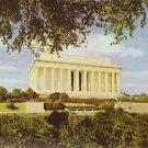Lincoln Memorial Washington DC vintage postcard