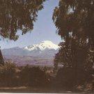 Mt Cayambe, Ecuador South America vintage postcard