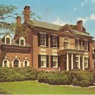 Woodlawn Plantation East Facade VA Virginia vintage postcard