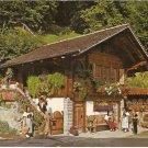 Berner Oberland Switzerland vintage postcard