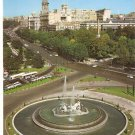 Neptuno Fountain Madrid Spain Neptune vintage postcard