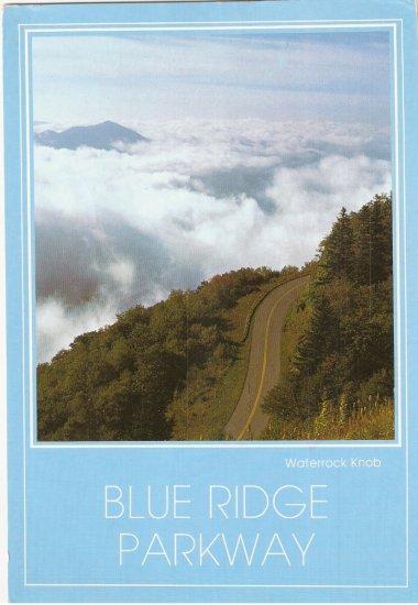 Blue Ridge Parkway Waterrock Knob North Carolina postcard