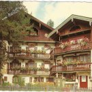 Tegernsee Wackersberger House Rosenstrasse Germany vintage postcard