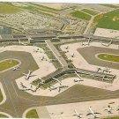 Amsterdam Holland Netherlands Schiphol Airport vintage postcard