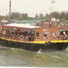 Chinese Junk Ann Hoe Water Tours Singapore boat postcard