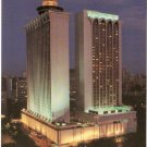 Mandarin Hotel Singapore night  Orchard Road postcard