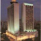 Mandarin Hotel Singapore night  Orchard Road postcard