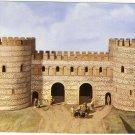 Verulamium Model of S.E. Gate 3rd century AD vintage postcard