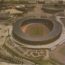 Seoul Olympic Main Stadium Korea vintage postcard