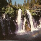 Burney Falls California California vintage postcard