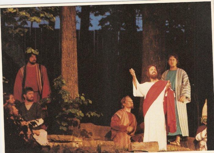 Passion Play Eureka Springs Arkansas postcard