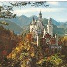 Gruss Aus Hohenschwangau Konigsschlosser Neiwchwanstein Germany postcard
