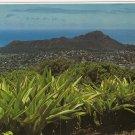 Diamond Head Crater Honolulu Hawaii postcard