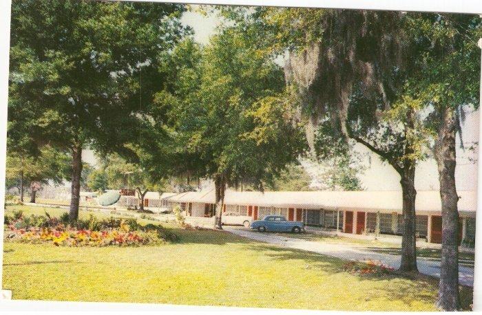 Fairways Motel Silver Springs Blvd Florida vintage postcard