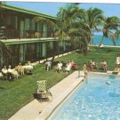 Surf Rider Apartments Pompano Beach Florida vintage postcard