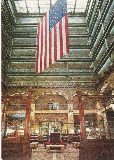 Brown Palace Hotel Denver Colorado color postcard
