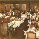 Restaurant La Tour Indianapolis Indiana National Bank Tower color postcard