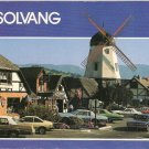 Solvang Alisal Windmill Danish town California vintage postcard
