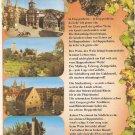 Weinstadt Heppenheim Bergstrasse Staatl poem Philip Boch Germany vintage postcard