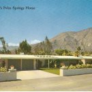 Alan Ladd Palm Springs Home California San Jacinto Mts vintage postcard