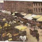 South Water Street Chicago Illinois 1911 vintage postcard