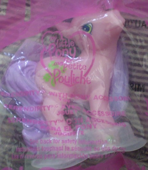 McDonald #2 My Little Pony Serendipity Pink 2005 New