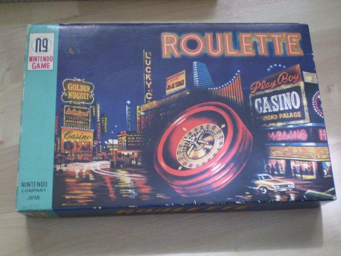 Vintage Nintendo Roulette N9 Game 600 Japan Casino Las Vegas
