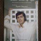 Winter World of Love Reed Mason 1969 Humperdinck Sheet Music