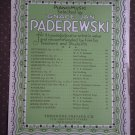 Neath The Balcony Op 11 No 3 Arthur Nevin Paderewski Sheet Music