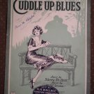 Cuddle Up Blues De Costa Jerome 1922 sheet music