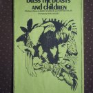 Bless the Beasts and Children Vorzon Botkin S.A. Chuck Cassey 1972 sheet music