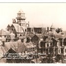 Winchester Mystery House before earthquake San Jose Calif vintage postcard