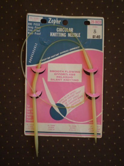 Circular Knitting Needles Zephr Size 8 29 inches 41929