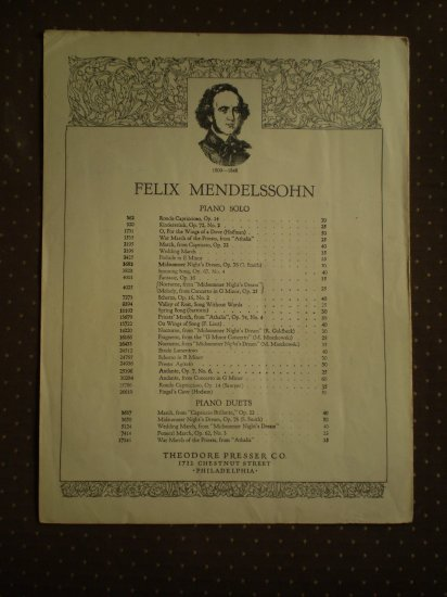 Priests' March From Athalia Felix Mendelssohn 13679 sheet music